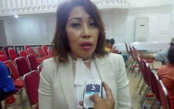 Ketua Persatuan Catur Seluruh Indonesia (Percasi) Kota Palangka Raya Rinawati Limonu.