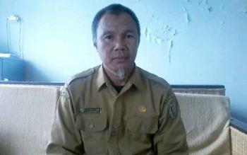 Kepala Dinas Koperasi UKM Perdagangan dan Perindustrian Kabupaten Katingan, Saptul Anwar.