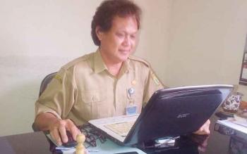 Kabid Perikanan Dinas Ketahanan Pangan Pertanian dan Perikanan Kabupaten Barito Selatan Jhoni Ngindra.