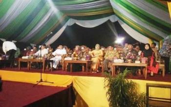 Suasana pembukaan MTQ tingkat Kabupaten Kotawaringin Barat