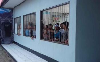 Para tahanan di Lapas Kelas IIB Sampit