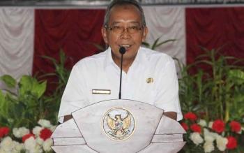 Sekretaris Daerah, Sekda Sukamara saat membuka kegiata.