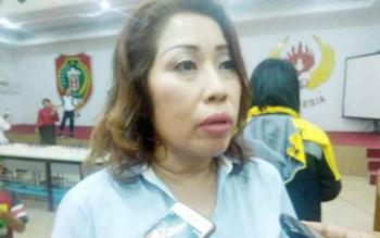 Ketua Persatuan Catur Seluruh Indonesia (Percasi) Kota Palangka Raya, Rinawati Limonu