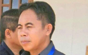Anggota DPRD Kabupaten Gunung Mas Herbert Y Asin.