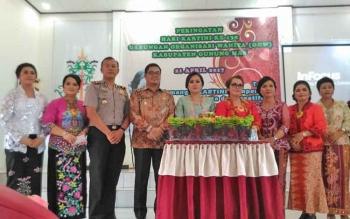 Peringatan Hari Kartini ke-138 di Aula Kantor Kecamatan Tewah, Jumat (21/4/2017).