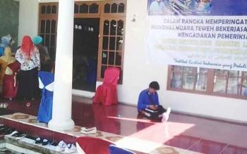 Pelaksananan Pemeriksaan IVA di Puskesmas Melayu