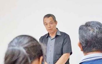 Kepala Dinas Tanaman Pangan Hortikultura dan Perkebunan Kobar, Kamaludin.