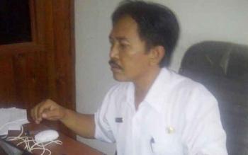 Jhon Pita Kadang Kabid Pemerintahan Desa Dan Kelarahan BPMD Kapuas.