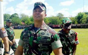 Pangdam XII/Tpr Mayjend TNI Andika Perkasa.