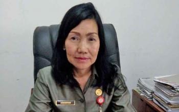 Kepala Dinas Kependudukan dan Pencatatan Sipil (Disdukcapil) Kabupaten Mura, Asnawiyah.