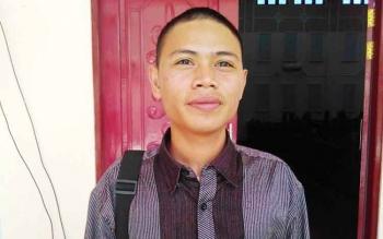 Muhammad Amrulah Mahasiswa Pulang Pisau yang kuliah di Palangka Raya.