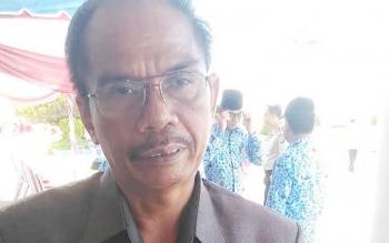 Ketua DPRD Kabupaten Gunung Mas, H Gumer.