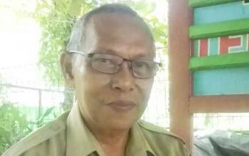 Drs M Saleh Makki Kepala Dinas Lingkungan Hidup Kabupaten Kapuas.