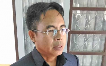 Anggota DPRD Gunung Mas, Herbert Y Asin