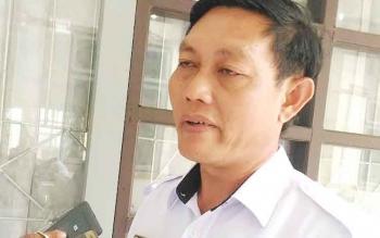Camat Miri Manasa, Kabupaten Gunung Mas, Jhonson Ahmad.