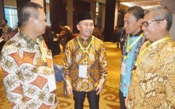 Gubernur Sugianto Saat menghadiri Musrenbangnas 2017 di Hotel Bidakara Jakarta, Rabu (26/4/2017)