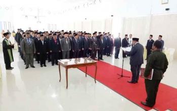 Bupati Sukamara, Ahmad Dirman melantik 94 pejabat