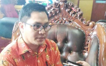 Wakil Bupati Gunung Mas Rony Karlos.