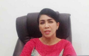 Kepala Dinas Pengendalian Penduduk, Keluarga Berencana, Pemberdayaan Perempuan dan Perlindungan Anak Kabupaten Mura, Lynda Kristiane