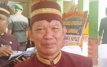 Kepala Badan Pengelola Pajak dan Retribusi Daerah Kabupaten Gubung Mas Nirwan I Bahat.