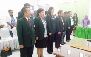 Pelantikan pengurus Ikatan Dokter Indonesia Cabagn Sukamara.