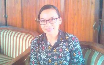 Ratih, guru honorer SMAN 1 Tamiang Layang