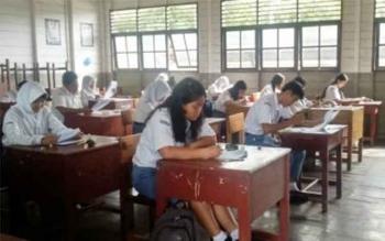 Ujian Nasional di Lamandau