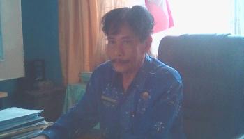 Kepala SMAN 1 Tamiang Layang, Kecamatan Dusun Timur, Kabupaten Barito Timur, Rogan Gunawan.