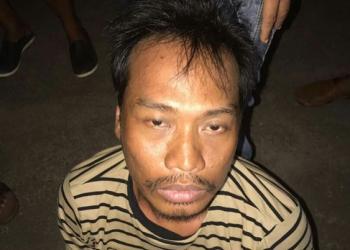Rasta, terduga pelaku penganiayaan di Kabupaten Kapuas.