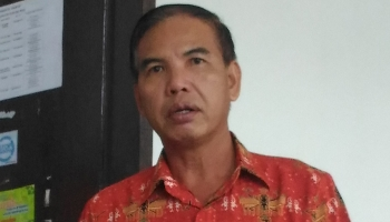 Kepala Bagian Kesejahteraan Rakyat Sekretariat Daerah Kabupaten Gunung Mas, Tito Andreas.