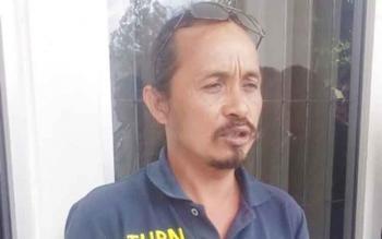Koordinator sopir truk Palangka Raya, Haryono