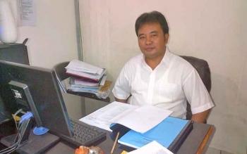 Kepala Sub bidang pelaporan Badan Pengelolaan Keuangan dan Aset Daerah (BPKAD) Barsel, Salmon Situmorang