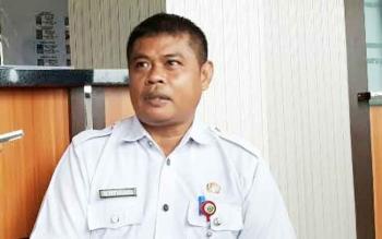 Plt BKD Alang Arianto saat memberikan keterangan kepada sejumlah wartawan, Rabu (3/5/2017)