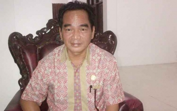 Ketua DPRD Kabupaten Barito Selatan Tamarzam.