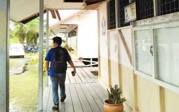 Salah satu sekolah di Kabupaten Pulang Pisau.