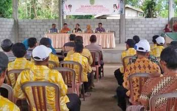 Kegiatan penilaian BBRGM di Desa Sidodadi Kecamatan Maliku belum lama ini.