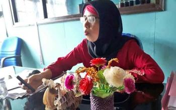 Kasi Pengembangan SDM Dinas Perikanan Kotim, Sekar Anggraesih, Jumat (5/5/2017).