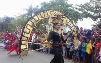 Kegiatan Sampit Etnik Karnaval 2017yang dilaksanakan oleh Kabupaten Kotim beberapa waktu lalu. Kotim siap menjadi tuan rumah Kalteng Expo 2017.
