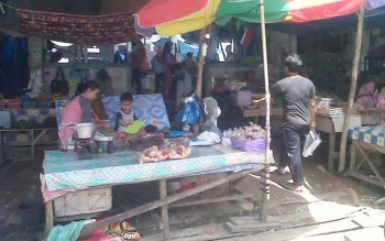 Suasana Kereng Pangi Kabupaten Katingan, Minggu (7/5/2017)