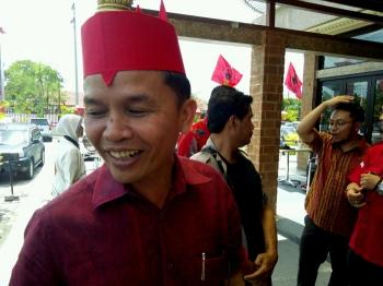 Ketua Dewan Adat Dayak Kalteng, Agustiar Sabran.