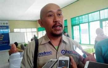 Direktur Pelatihan Perwakilan dari Manajemen Pusat Hospital Preparedness and Community Readiness for Emergency and Disaster, Anang Arliono.
