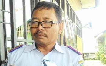 Kepala Dishub Kota Palangka Raya Eldy.