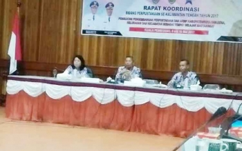 Kegiatan Rapat Koordinasi Bidang Perpustakaan se-Kalteng di Kabupaten Seruyan, Selasa (9/5/2017).