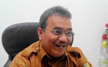 Kepala Desperindag Kota Palangka Raya, Aratuni D Djaban.