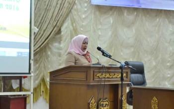 DPRD Barito Utara Sampaikan Rekomendasi Terhadap LKPj Bupati