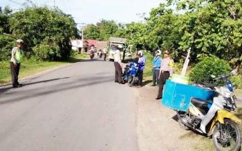 Operasi Patuh Telabang di Buntok, Kabupaten Selatan, Rabu (10/5/2017).
