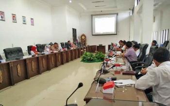 Anggora DPRD Barito Utara menggelar hearing dengan PT Multi Persada Gatrah Megah