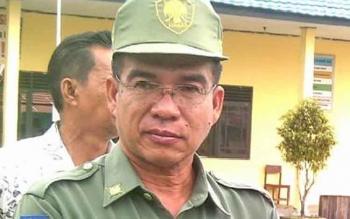 Kepala Dinas Pengelolaan Pajak dan Retribusi Kota Palangka Raya Ikhwanudin.