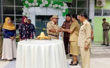 Salah satu kegiatan Bupati Sukamara, Ahmad Dirman di RSUD.