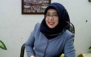 Ernawati, Ketua PGRI Kota Palangka Raya